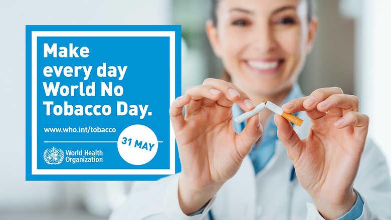 Journée mondiale sans tabac – La FDI souligne le rôle des médecins dentistes.