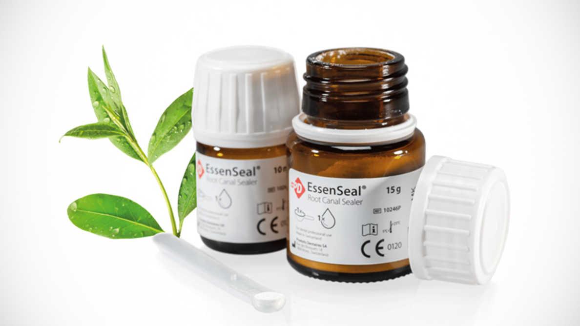 EssenSeal, produit de scellement innovant pour des obturations canalaires modernes.